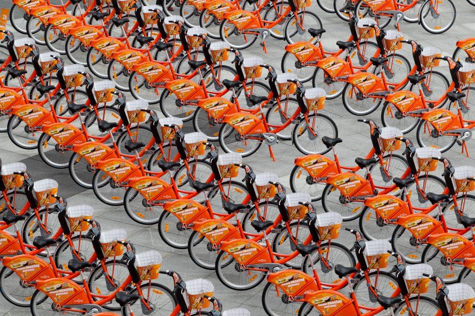 Oranžinių dviračių sezonas baigtas