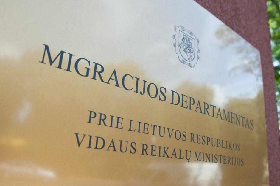 Skandalinga Migracijos departamento byla vis dar laukia atomazgos