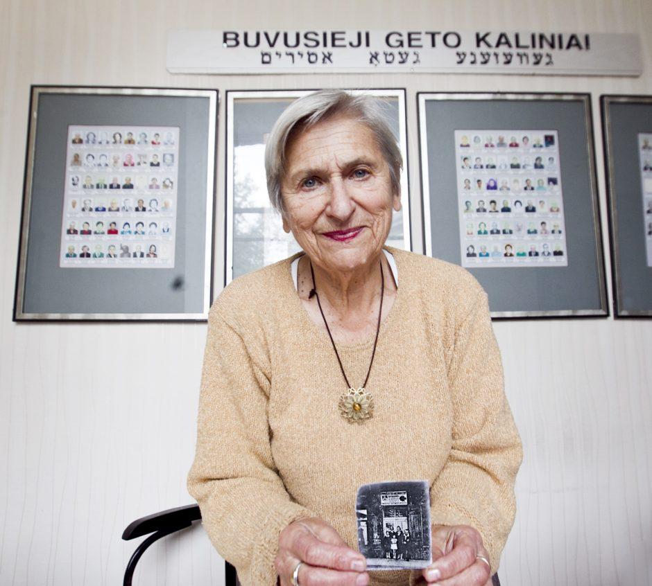 F. Brancovskaja: Vilniaus geto siaubas persekioja ir po 70 metų