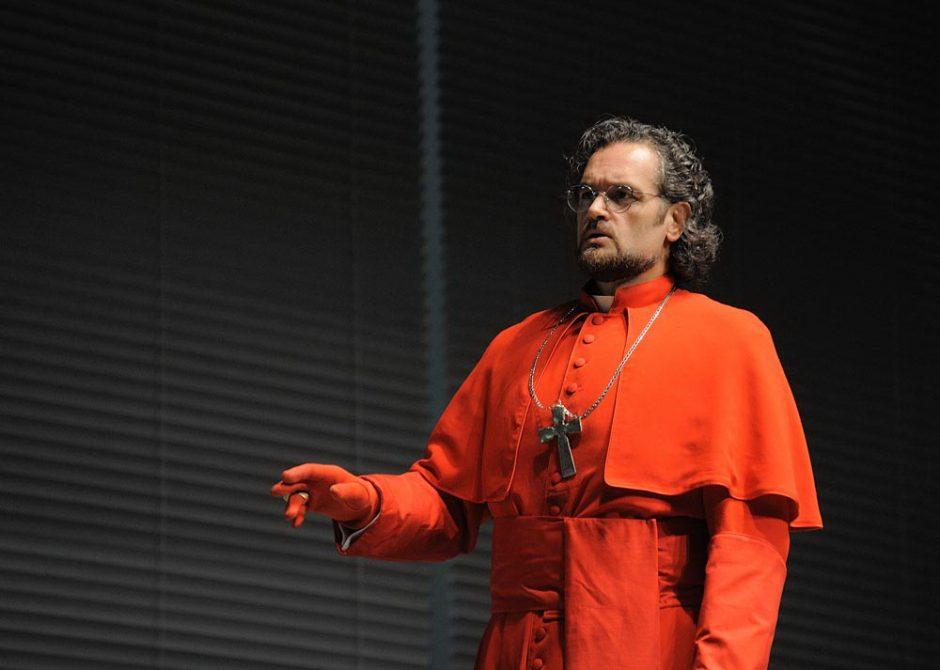 """Operoje """"Žydė"""" dainuos charizmatiškas italų bosas Riccardo Zanellato"""