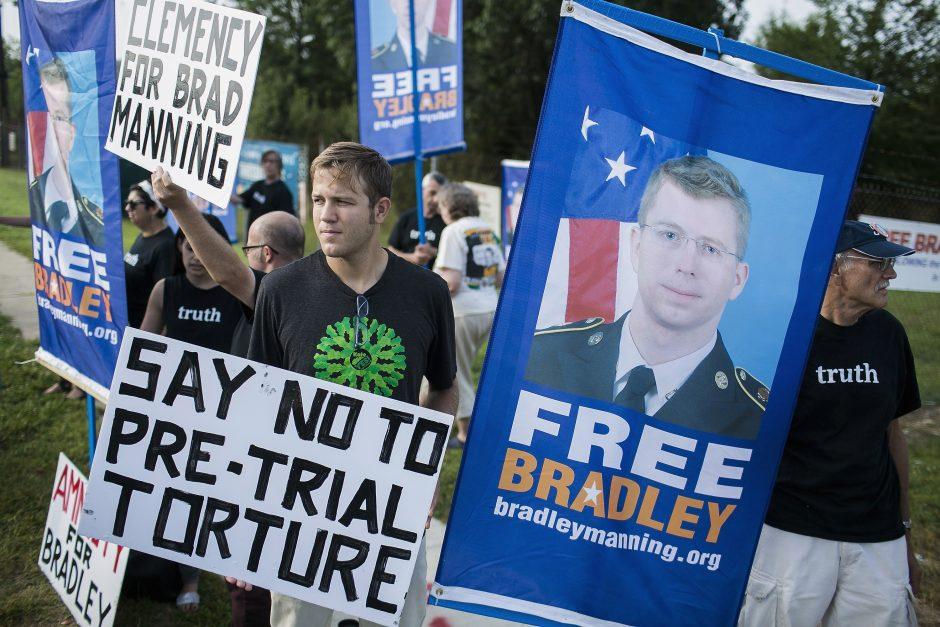 Už JAV paslapčių atskleidimą B. Manningui – 35 metai kalėjimo
