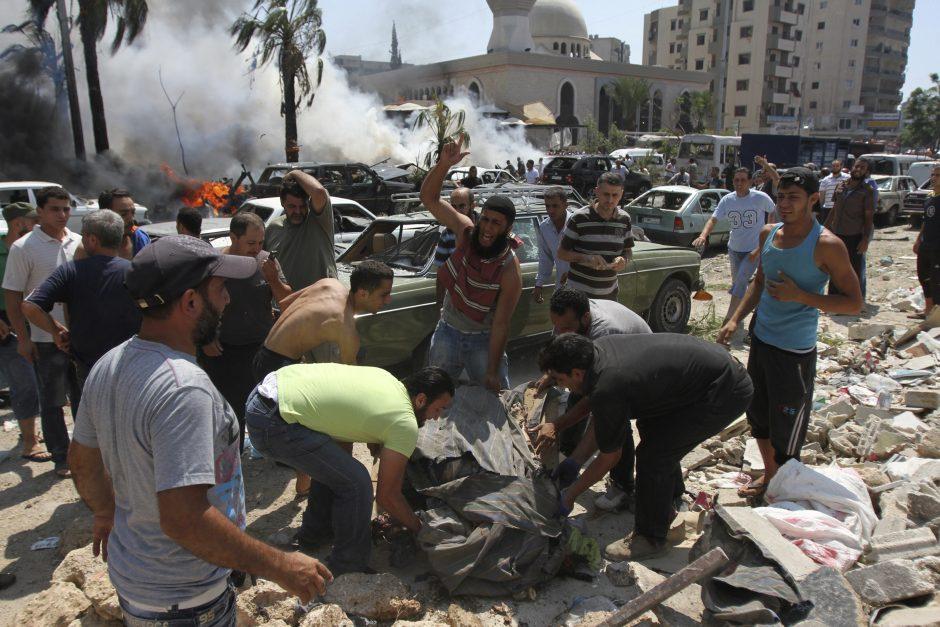 Libane per sprogimus žuvo mažiausiai 27 žmonės, sužeisti 352