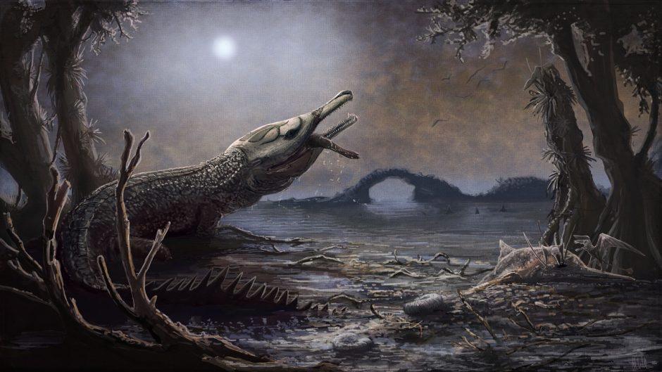 """Krokodilas pavadintas mirusio """"Motorhead"""" lyderio garbei"""