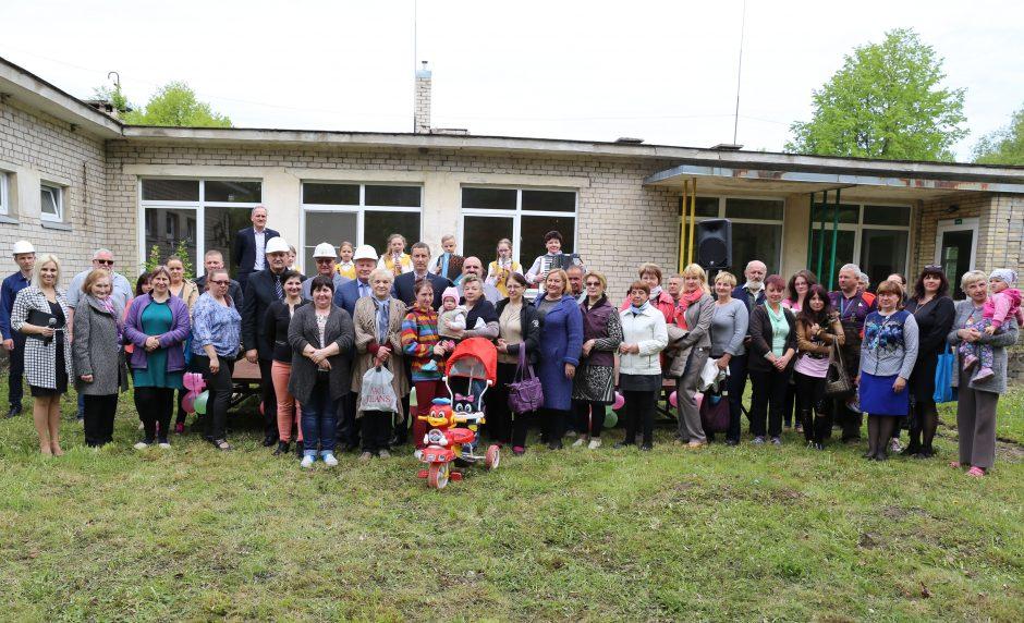 Kauno rajono savivaldybė stato socialinį būstą