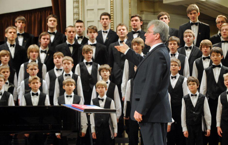 Gegužės savaitgaliais miestuose skambės berniukų chorų balsai