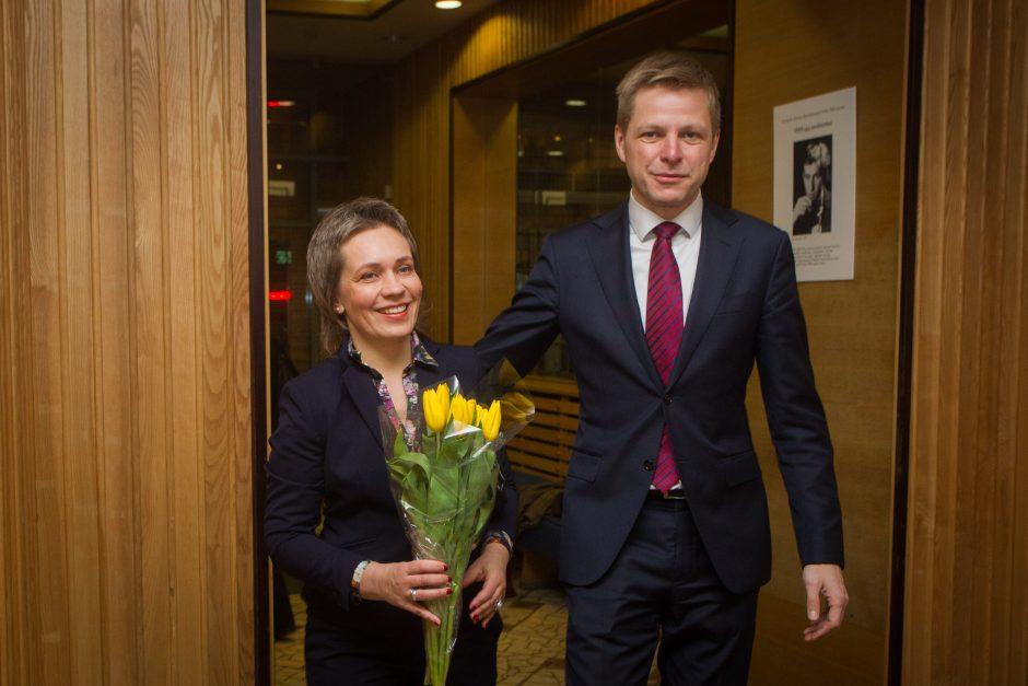Vilniaus meru išrinktas R. Šimašius žada daugiau skaidrumo (papildyta)