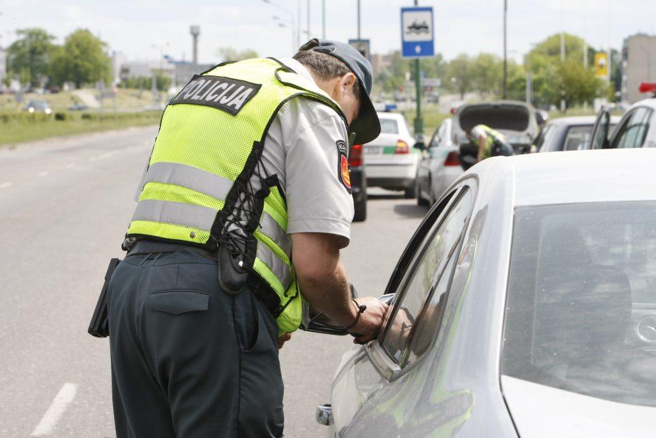 Per saugaus eismo akciją policija nustatė beveik 2 tūkst. pažeidėjų