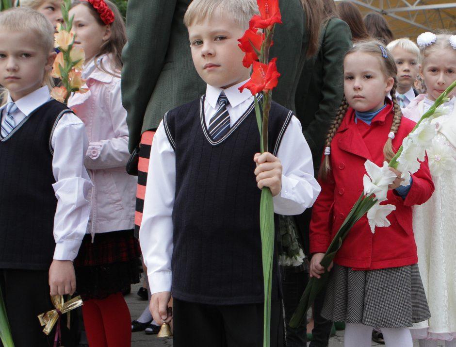 Kauno mokyklų duris šiemet pravers mažiau pirmokų