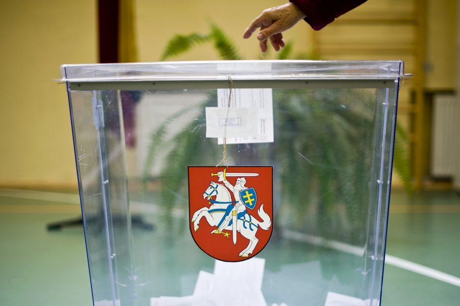 Siūloma pratęsti prezidento rinkimų kampaniją