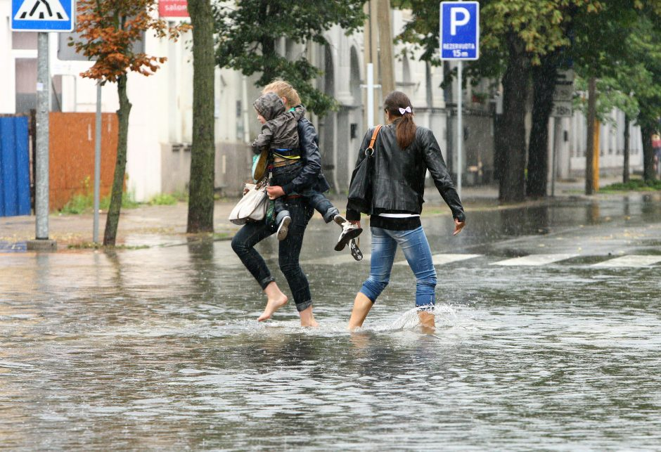 Klimatologas: Kauno geografinė padėtis lemia dažnesnes audras