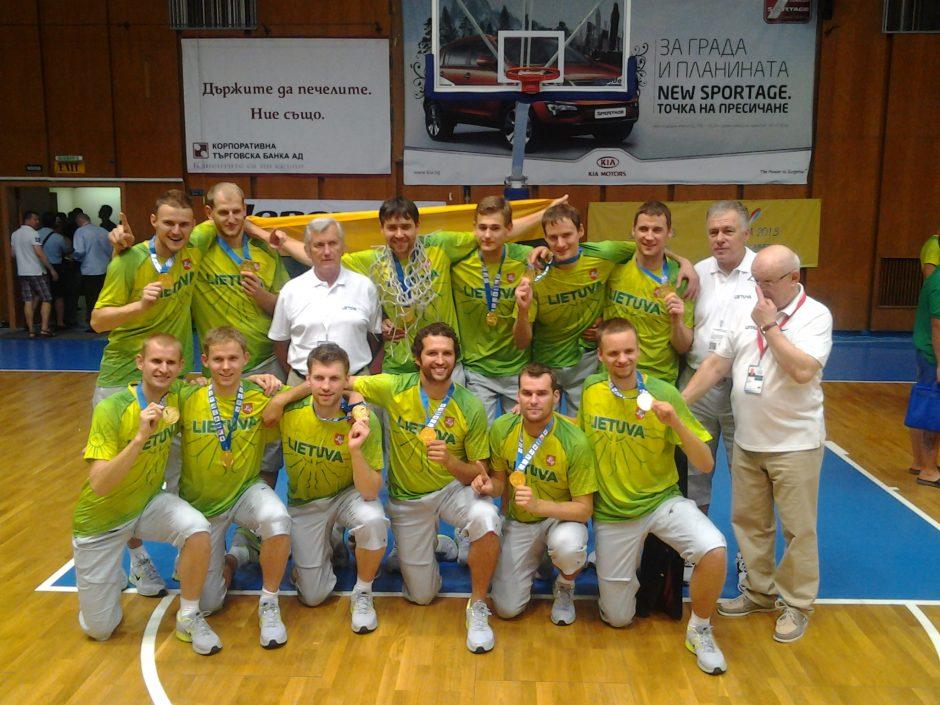 Kurčiųjų olimpinėse žaidynėse – istorinis lietuvių žygis