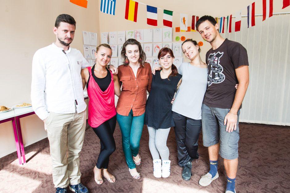 Šokiai sujungė jaunimą iš šešių šalių