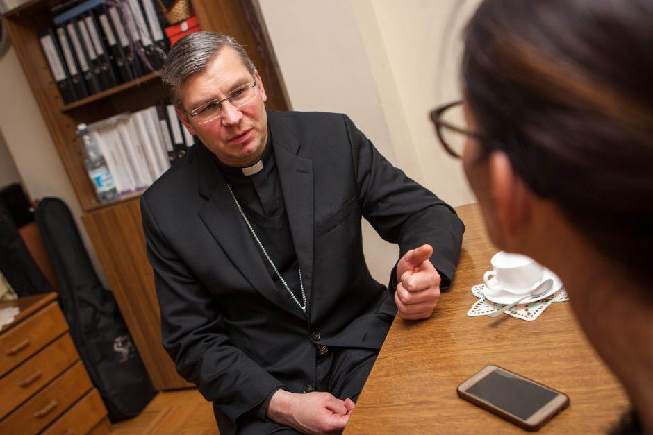 Vyskupas K. Kėvalas: mes pamiršome tiesiog džiaugtis