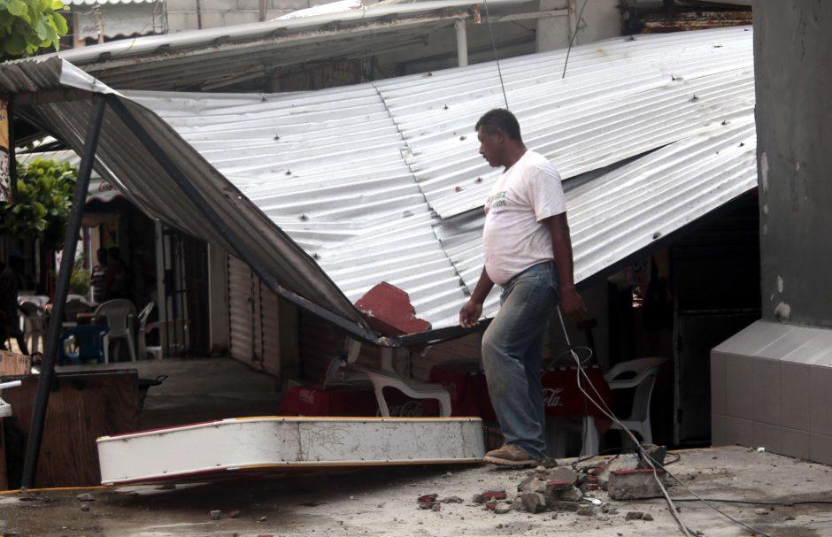 Meksiką supurtė stiprus 6,1 balo žemės drebėjimas