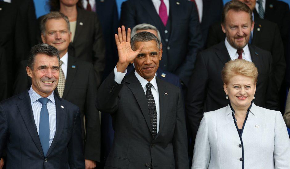 Prezidentė: NATO priėmė istorinį sprendimą dėl saugumo Baltijos šalyse (papildyta)