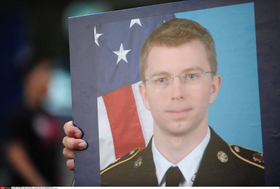 Už dokumentų paviešinimą nuteistas JAV armijos eilinis prašo jį vadinti moterimi