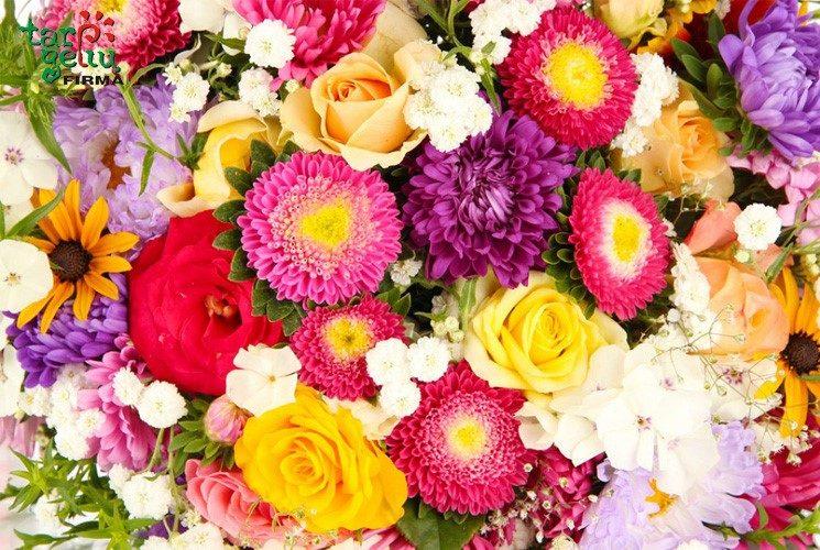 Gėlės harmonizuoja žmogaus kūną ir sielą
