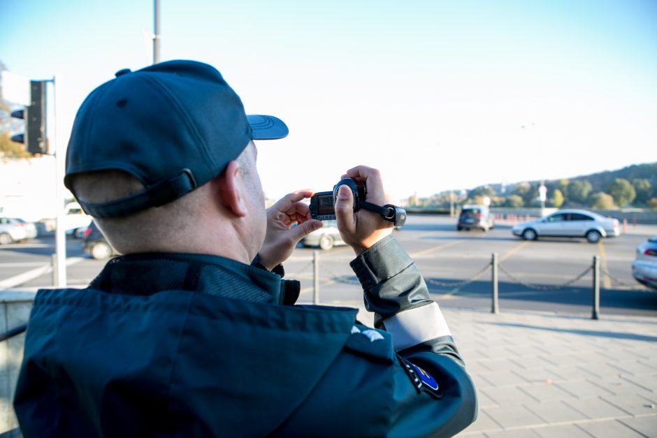 Policijos reidas judrioje Kauno gatvėje
