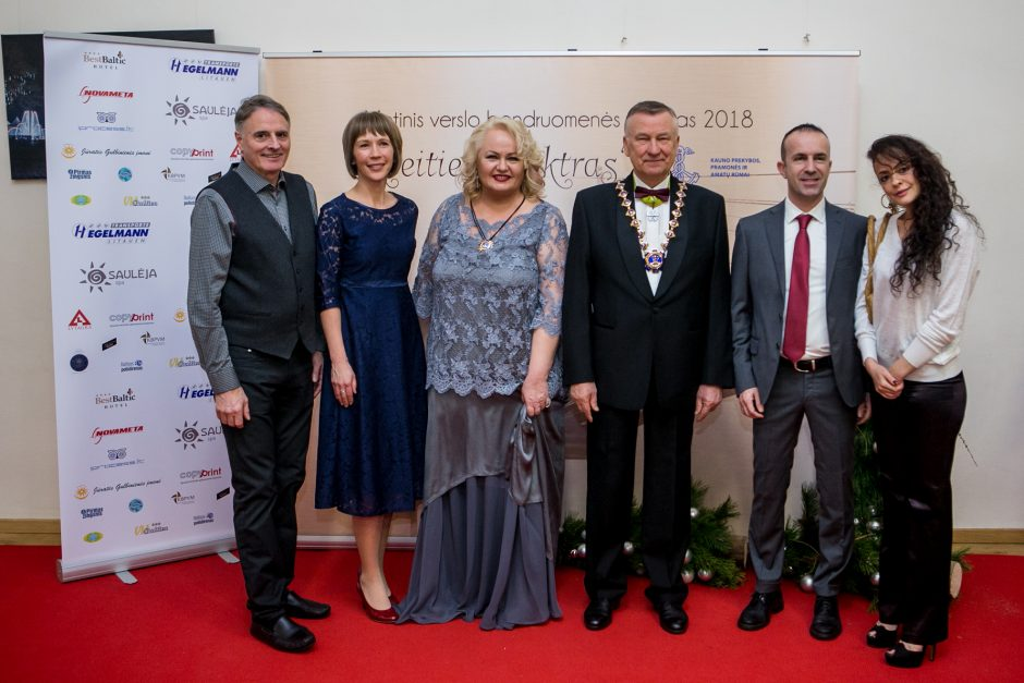 Raudondvaryje – iškilmingas Kauno regiono verslo bendruomenės vakaras