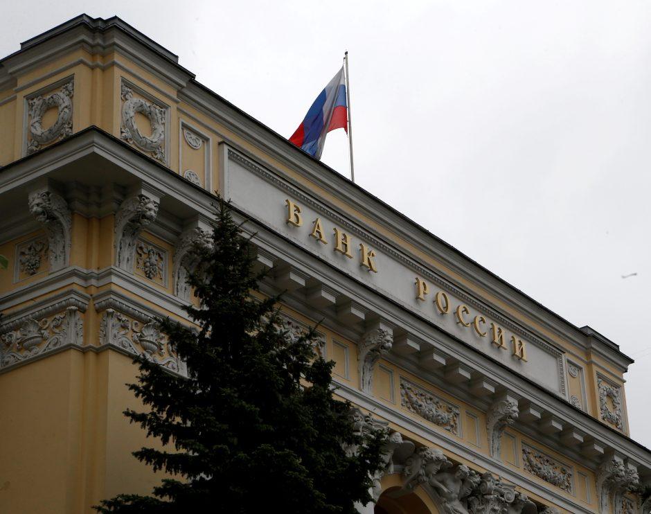 Rusija: programišiai iš šalies bankų pernai pavogė trilijoną rublių