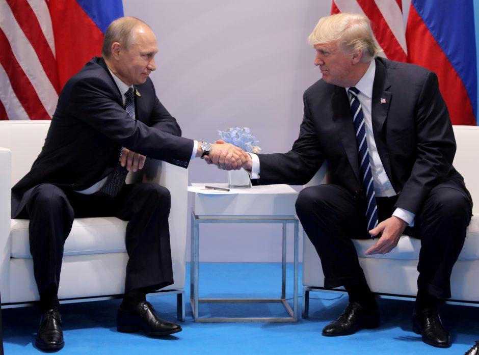 D. Trumpo ir Maskvos slapto susitarimo įrodymų nerasta