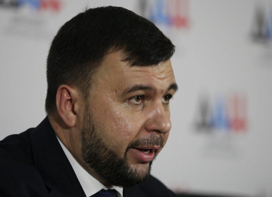 Laikinuoju Donecko separatistų lyderiu paskirtas D. Pušilinas
