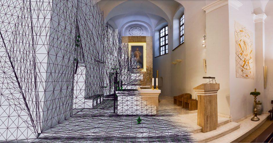 Vilnių garsinantis paveikslas atgijo virtualioje realybėje