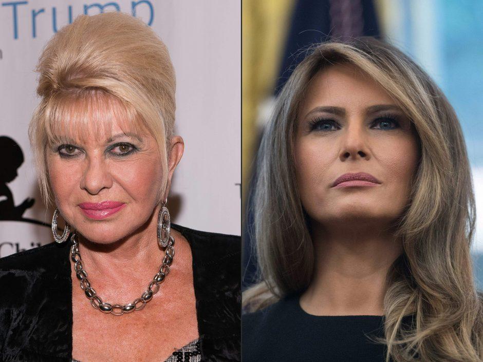 M. Trump pirmąją savo vyro žmoną kaltina savanaudiškumu