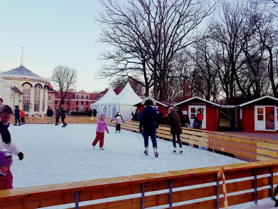 Į Raudondvarį vilioja ir čiuožykla