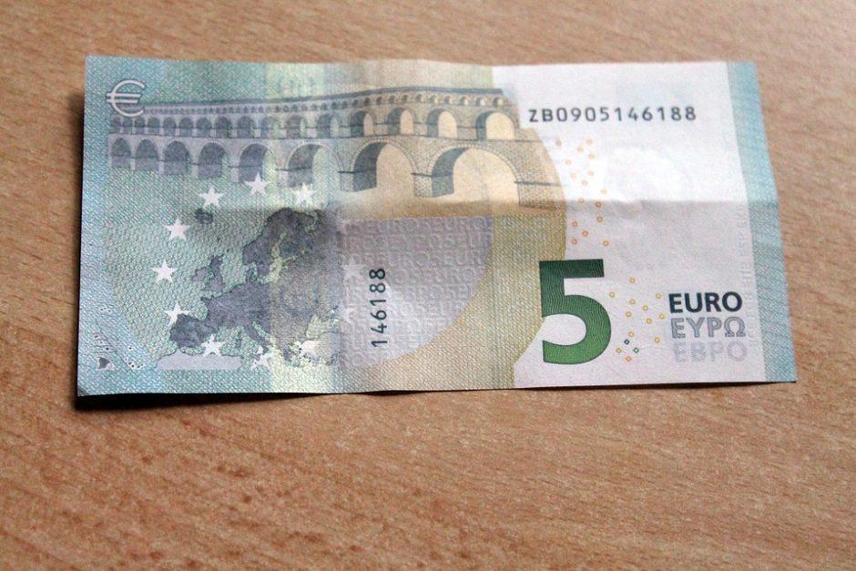 Už penkių eurų grobį gresia iki septynerių metų nelaisvės