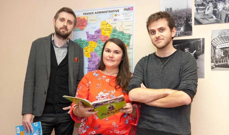 Mokytojai iš užsienio pasitelkia ir ženklų kalbą