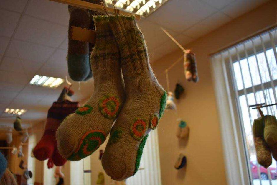 Ilgakiemyje išrinktos gražiausios kojinės