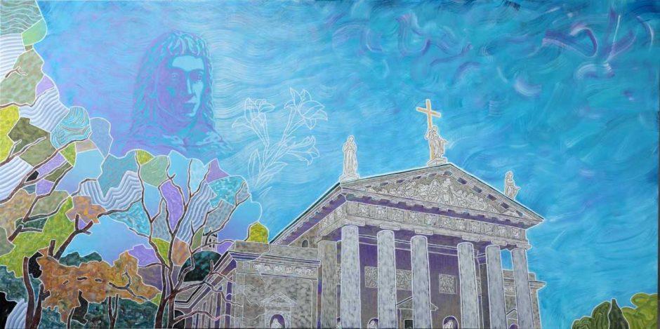 Kauno Kristaus Prisikėlimo bazilikoje – unikali D. Slavinsko paroda
