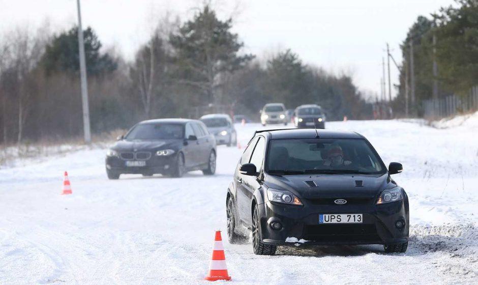 Saugus vairavimas prasideda nuo elementarių dalykų