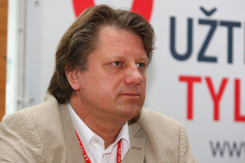 S. Čaplinskas siekia įrodyti, kad žodžiai apie infekuotuosius ŽIV – iškraipyti