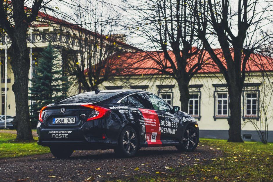 Galia – antraeilis rodiklis sportiškam automobiliui