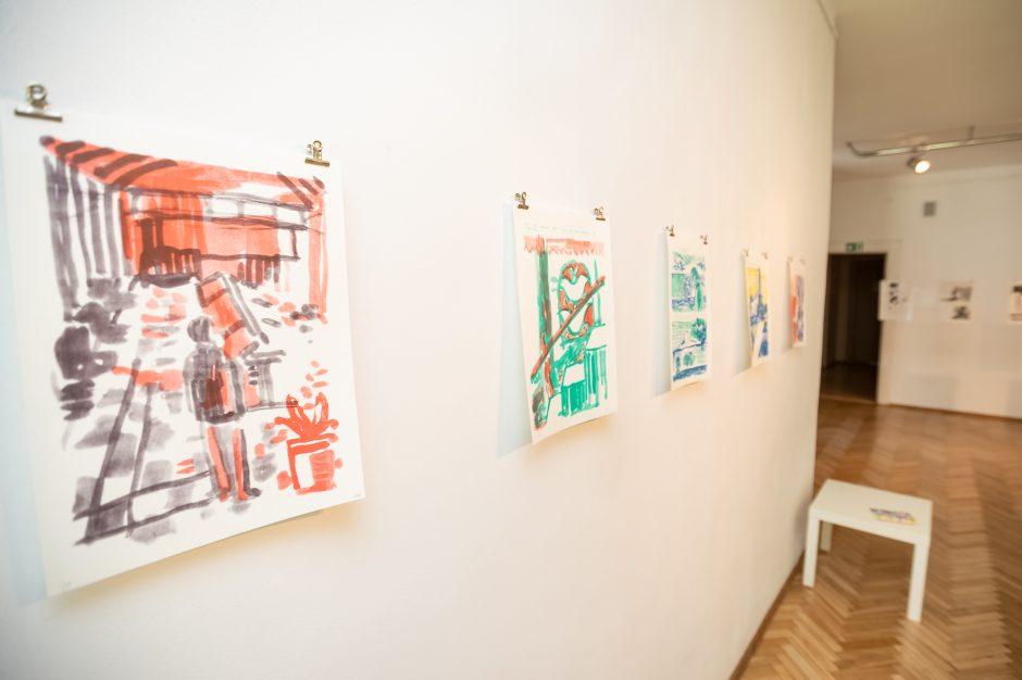 Kauno tarpukario šedevrai sugulė į suomių menininko komiksą