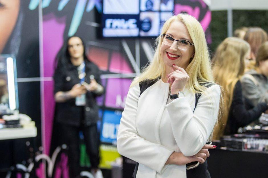 """Vilniuje prasidėjo jubiliejinė grožio industrijos paroda """"Pelenė"""""""