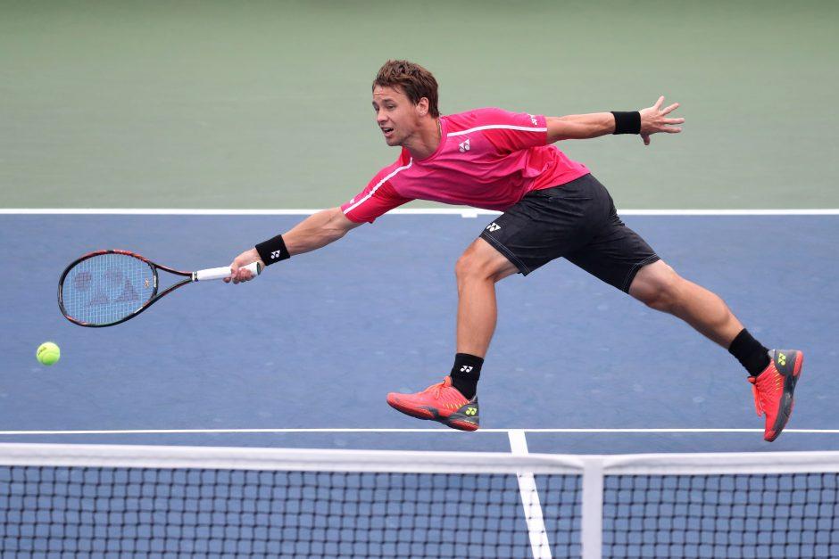 R. Berankis ATP 500 turnyro Olandijoje atranką pradės akistata su M. Bachingeriu