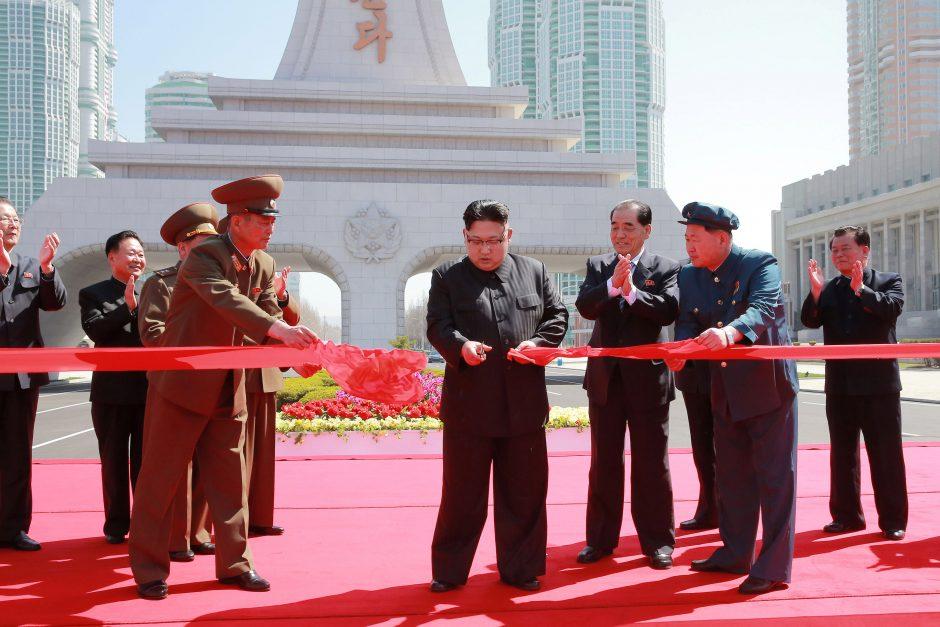 Rusija ir JAV susikivirčijo dėl Šiaurės Korėją smerkiančio JT pareiškimo spaudai