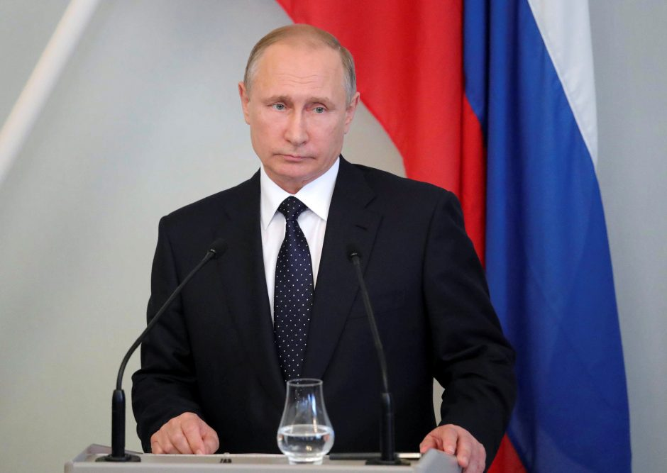 V. Putinas: Rusija turės atsakyti sankcijas paskelbusiai JAV už chamiškumą