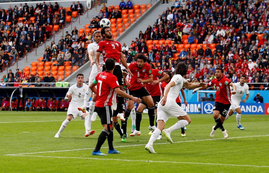 FIFA aiškinasi, kodėl per rungtynes Jekaterinburge buvo tuščių vietų