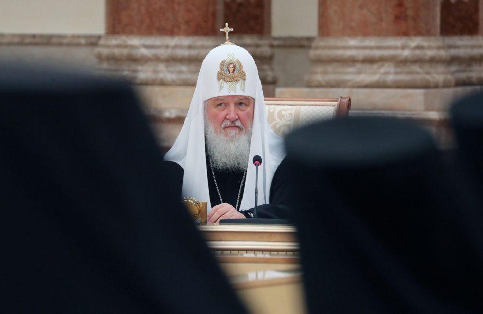Rusijos patriarchas Kirilas užsipuolė