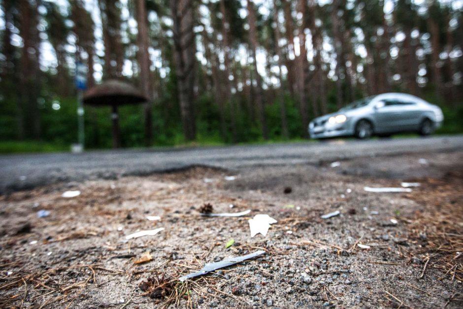 Per avariją šalia Kleboniškio sužaloti trys žmonės