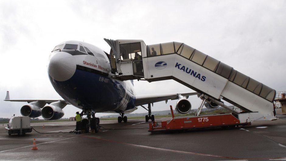 Sutriko Kauno oro uosto veikla, atidėti skrydžiai