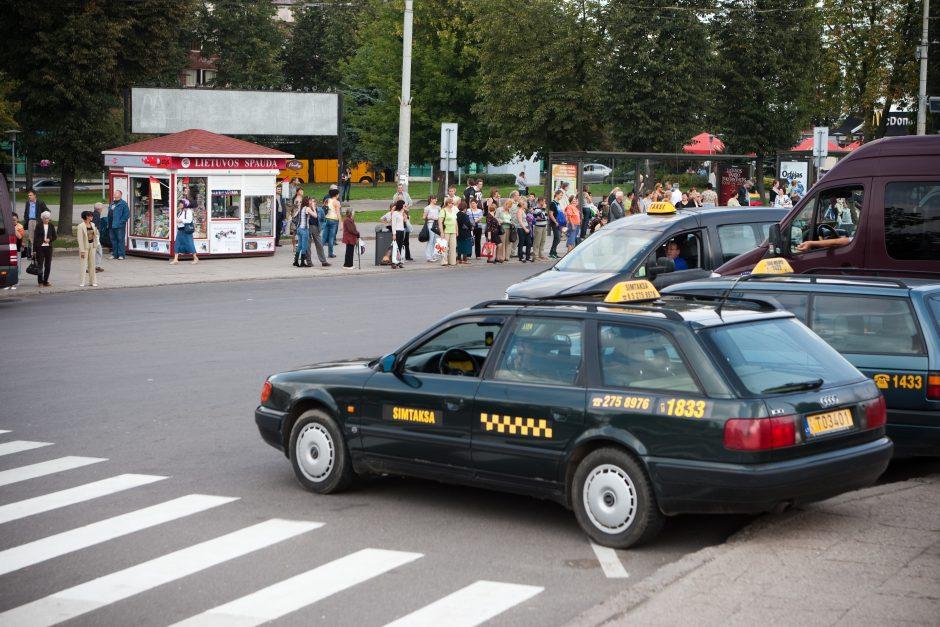 Už kelionę taksi vilnietė gavo 5000 litų sąskaitą