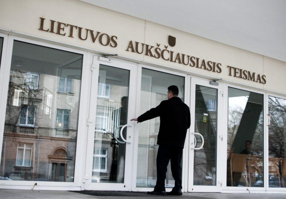 Lietuvos Aukščiausiasis Teismas patenkino Klaipėdos apygardos prokuratūros skundus