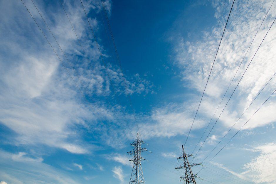 Po praūžusios audros elektros šalyje dar neturi 3,8 tūkst. vartotojų