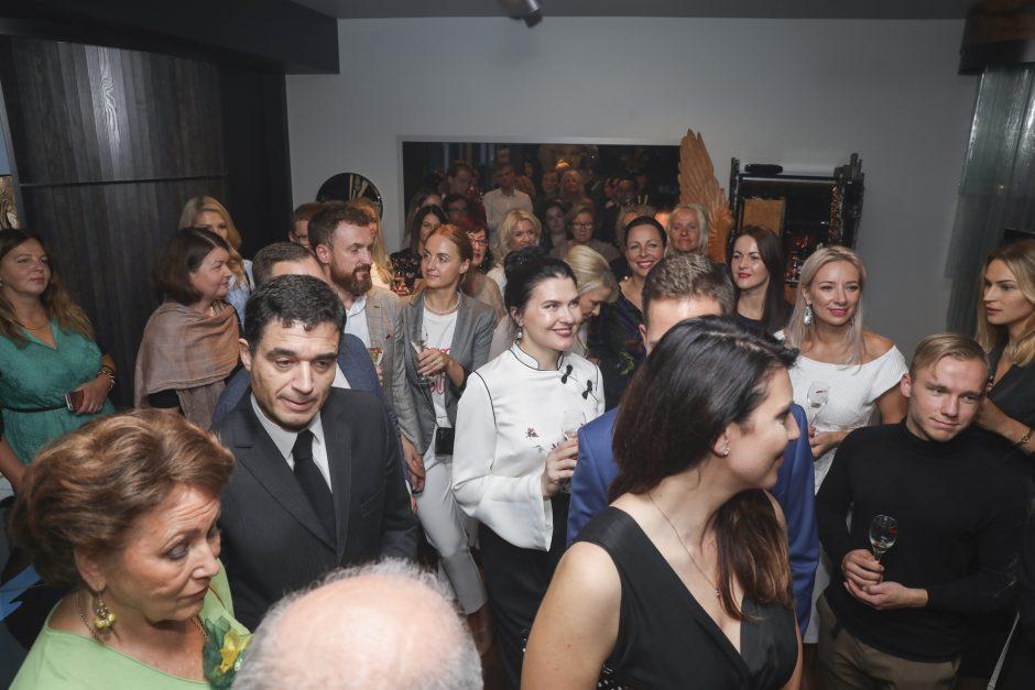 Ž. Grigaičio gimtadienio vakarėlis