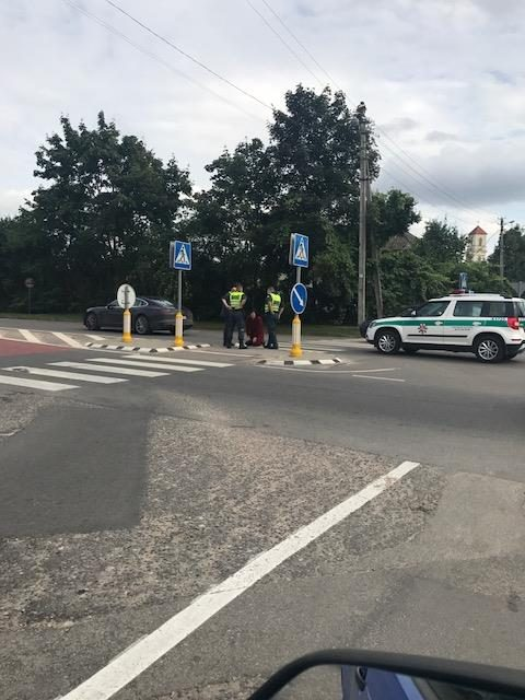Kauno meras V. Matijošaitis – incidento pėsčiųjų perėjoje epicentre